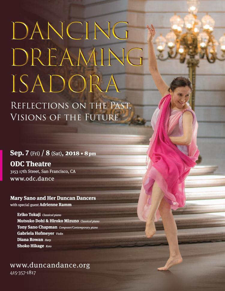 Dancing Dreaming Isadora 2018